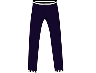 Legging navy navy