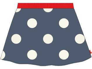 Skirt allover Big Dot