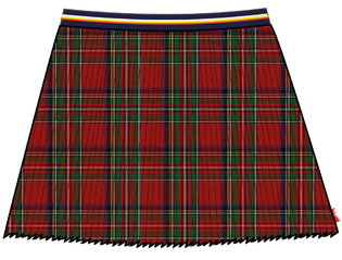 Skirt Plisse Allover tartan