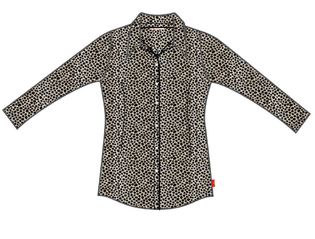 Blouse-X Jacquard dot