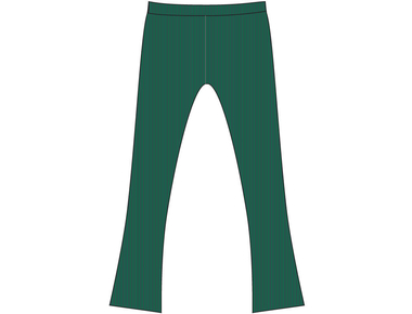 Pants Flair green