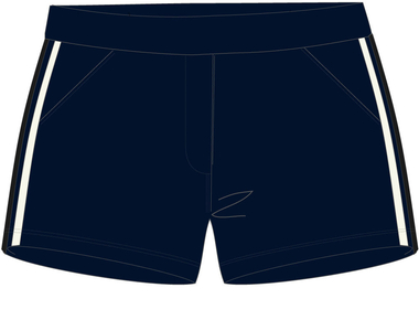Short retro navy