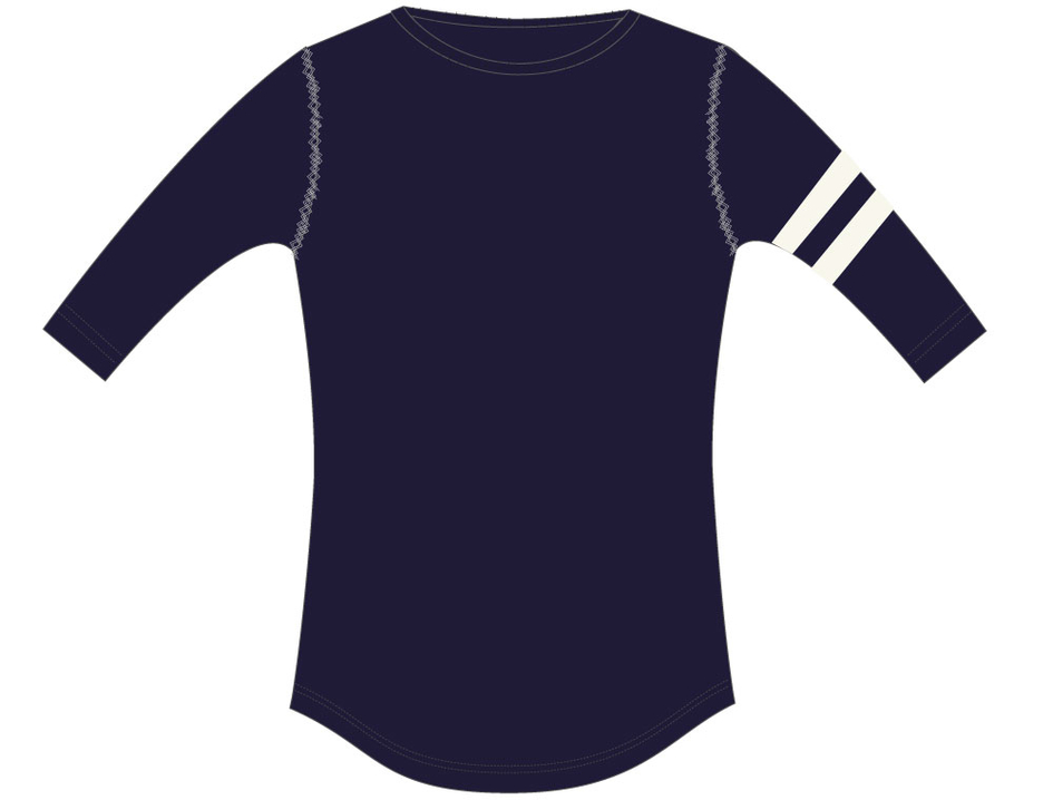 3/4 T-shirt Paris Navy